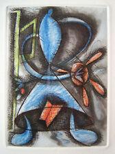 ELIZABETH MURRAY Signed 1988-90 Original Color Etching, with Anne Waldman