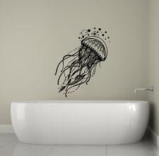 Jellyfish Wall Decals Bathroom Sea Ocean Animal Decal Jelly Fish Vinyl Art S57