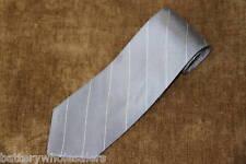 DKNY DONNA KARAN Grey Stripe Necktie