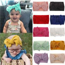 Summer Baby Girls Kids Turban Bowknot Hat Cap Wrap Headwear Headband