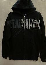 """Color Black Metal Mulisha Boys/'s Hoodies /""""Doomsday Zip Fleece/"""" size M"""