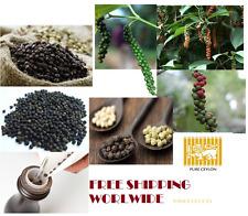 PEPE nero intero alta qualità 100% puro dello Sri Lanka spezie dell'Asia Meridionale