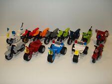 Lego Motorbike / Trike Mini Figure Accessory - Multiple Variations!