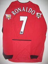 Long Sleeve 2003 Nike Manchester United Cristiano Ronaldo Jersey Real Madrid LS