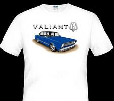 VALIANT  VC  V8   SEDAN  QUALITY WHITE TSHIRT  ( 8 CAR COLOURS )   BIG FIT