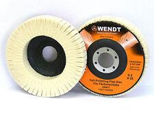 Disco Lucidatrice 100 x 16 Flessibile, Feltro, Disco Sfaccettato