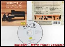 "Vladimir HOROWITZ ""In Hamburg The Last Concert""(CD)2008"