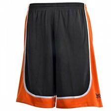 k1x Hardwood - League Uniform Basketball Shorts mk2 - schwarz / orange / weiß