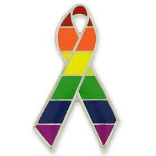 PinMart's LGBT Gay Pride Awareness Ribbon Enamel Lapel Pin