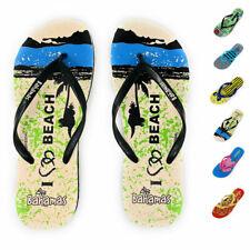 Bahamas Chanclas para Mujer Premium Cómodo Chanclas Zapatillas Playa Piscina