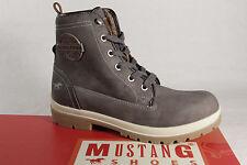 Mustang Bottes Bottines Boots délaçage gris 1207 NOUVEAU!