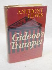 Anthony Lewis  GIDEON'S TRUMPET  Random House  c. 1964, First Printing HC/DJ