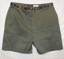 Willi Smith sz 10 Womens Green Camouflage Shorts NV27