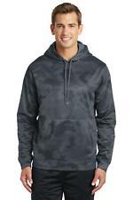 Sport-Tek  Sport-Wick  CamoHex Fleece Hooded Pullover. ST240