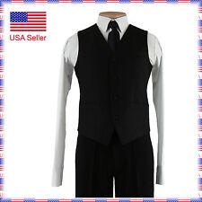 CLV02 New Ballroom Standard Smooth Classic Short Dance Vest Waistcoat (8 sizes)