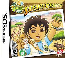 Go, Diego, Go Safari Rescue (Nintendo DS, 2007)