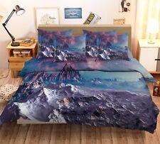3D Anime Alien World 53 Bed Pillowcases Quilt Duvet Cover Set Single Queen CA
