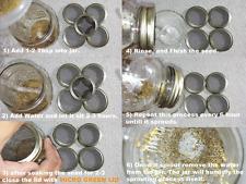 USDA Organic ALFALFA Sprouting Seed with Micro Green Lid for Mason Jar 1g-1lb