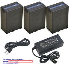Kastar Battery D-Type Fast Charger for Sony BP-U65 U65 BC-U1 U2 Sony XDCAM EX