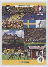 2016 Panini Adrenalyn XL UEFA Euro #386 Sweden Soccer Card