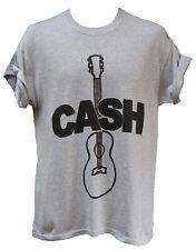 Cassa PER CHITARRA T-Shirt Rockabilly Country Blues Festival Unisex Top Tutte Le Taglie