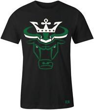 """Crown Bull"" T-shirt to Match Retro ""Pine Green"" 1's"