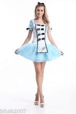 ALICE in Wonderland signore Costume Vestito di tutte le taglie Hen Do Nuova
