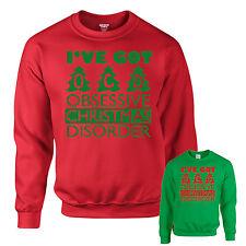 CHRISTMAS JUMPER - OCD FUNNY XMAS SWEATSHIRT GIFT