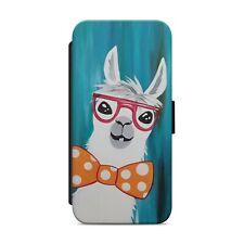 Cute Allpaca Llama Animal WALLET FLIP PHONE CASE COVER iPhone Samsung        z24