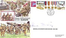 AF19Ac Airborne Forces VE Day RAF FDC signed Gen Sir Kenneth Darling DSO