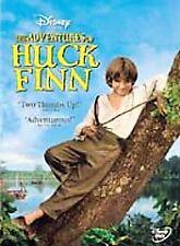 The Adventures of Huck Finn (DVD, 2002)  Elijah Wood  Disney  Brand NEW