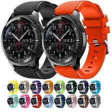 Armband für Samsung Gear S3 Frontier Classic Galaxy Watch 46mm Silikon Sport