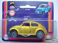 Siku 1022 VW 1300 Käfer Beetle golden yellow OVP mint condition