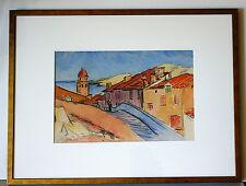 Jacques VAILLANT (1879-1934) -- France - WC- Village scene