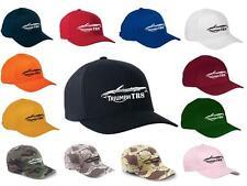Triumph TR-8 TR8 Convertible Classic Color Outline Design Hat Cap