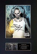SUICIDE SQUAD Diablo Jay Hernandez Signed Autograph Mounted Photo Re Print 624
