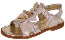 Zecchino d'Oro F21 5168 3D Blüten Sandalen Leder Klett Mädchen Rosa 31 - 36 Neu