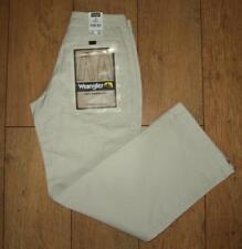"""New Women's Wrangler Lake Jeans Regular Fit Size 10 W28"""" L32"""" Straight Leg Ivory"""