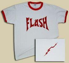 Freddie Mercury Retro Flash Ringer T-Shirt - All Sizes