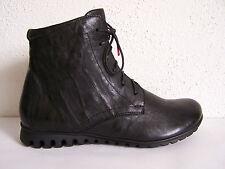 Think! Schuh Modell Bessa schwarze capra rustico Stiefel Boots +THINK Papiertüte