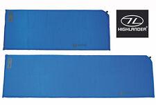 Self Inflating Air Bed Camping Mattress Foam Sleeping Hiking Mat Bag Roll Blue