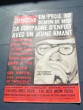 Détective 1967 1089 MERIEL MONTRéSOR SAINT MARIEN BOUVIGNES LES MUREAUX