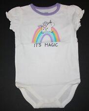 NUEVO Gymboree it's Magic unicornio BODY CON ETIQUETA 0-3m meses 3-6m 6-12m