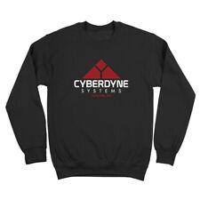 Cyberdyne Systems Sunnyvale  Terminator Skynet Geek Black Crewneck Sweatshirt