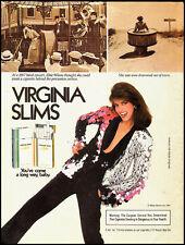 1984 Vintage magazine ad for Virginia Slims Cigarettes (091812)