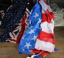 Clayre & Eef * Halstücher* Flagge * USA * England* Schals *verschiedene Farben