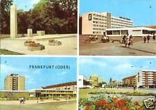 AK, Frankfurt Oder, 4 Abb., u.a. Neubauten, 1973