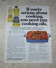1978 ad page - Planters peanut cooking Oil - chicken cacciatore recipe ADVERT