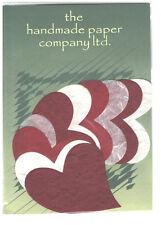 50 x Die Cut forme di cuore/Mulberry Paper/artigianato/Cardmaking/Decoupage/arte/colori