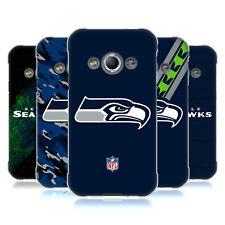 UFFICIALE NFL SEATTLE SEAHAWKS LOGO COVER MORBIDA IN GEL PER SAMSUNG TELEFONI 4